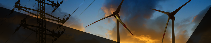 energy and environment header picture, photo of wind turbines