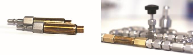 Testleck Gas Kalibrierung bei TrigasFI