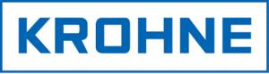 Unternehmen Krohne Logo, Hersteller von Durchflussmessgeräten