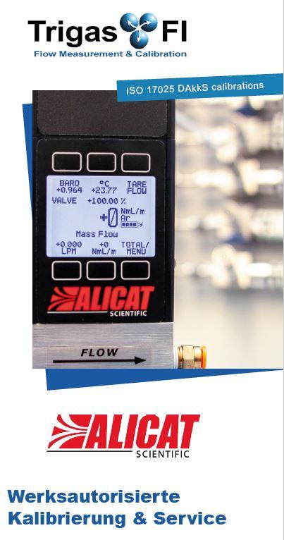 Alicat Kalibrierung und Service